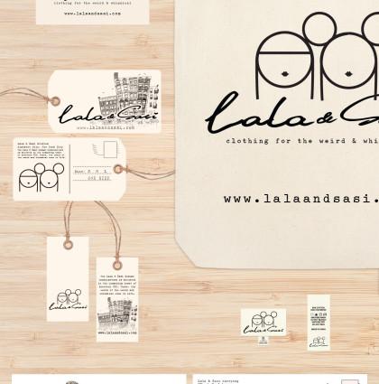 Lala & Sasi Brand Identity
